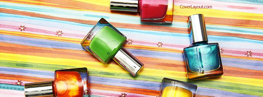 Nail Polish Facebook Cover Coverlayout
