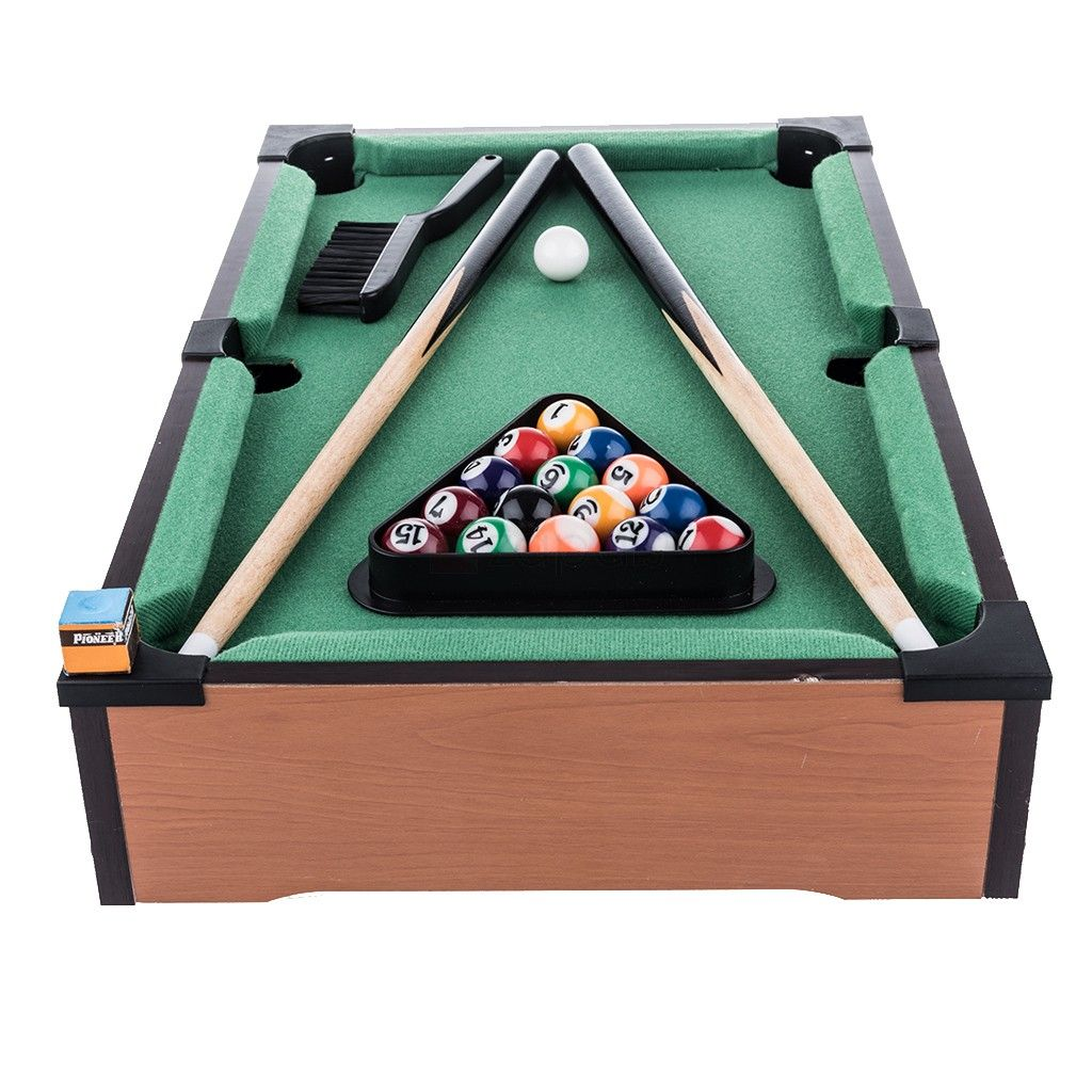 Mini & Practical Tabletop Pool Table Set. Assembly Fully Assembly ...
