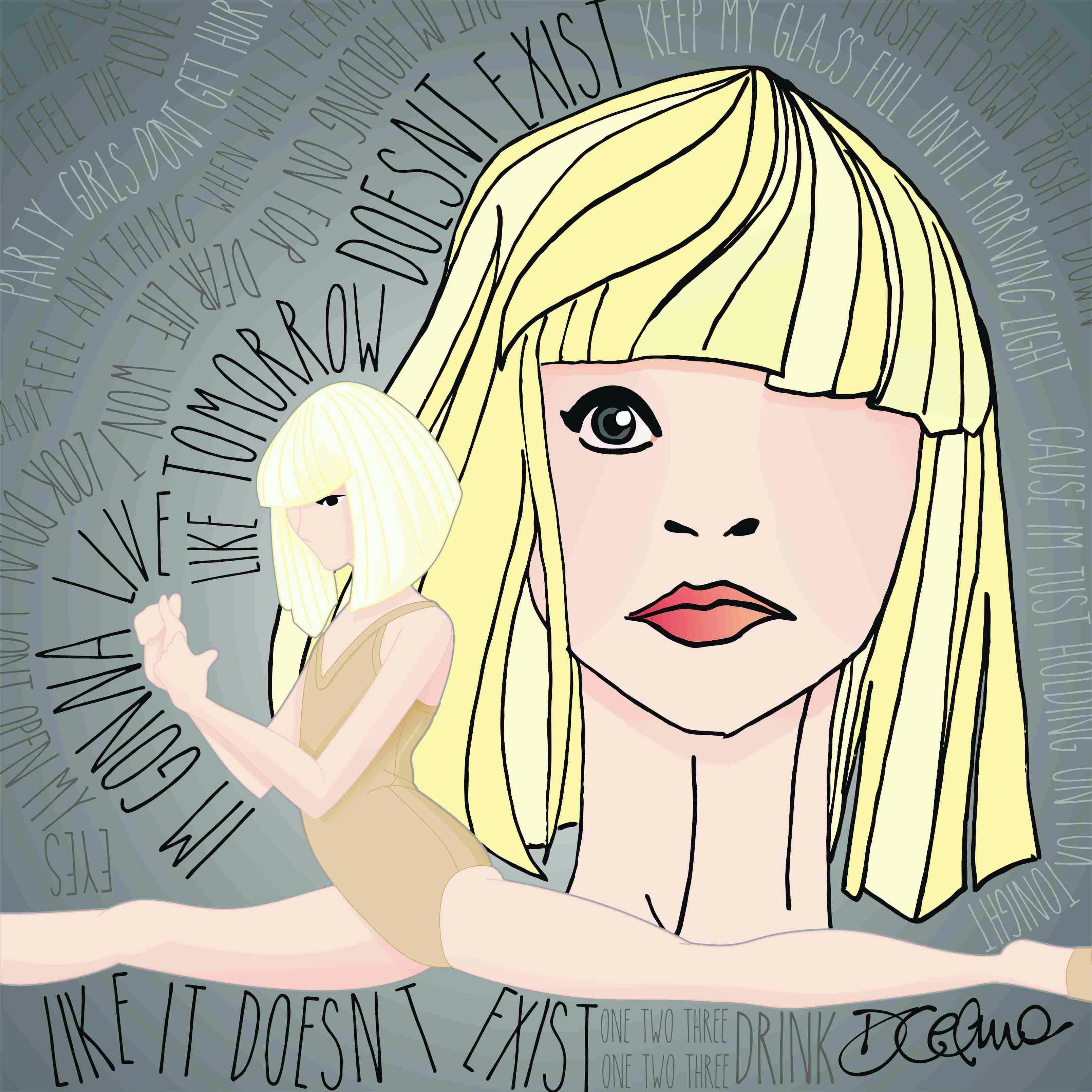 I\'m gonna swing from the chandelier... from the chandelier... #Sia ...