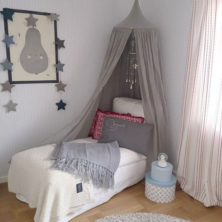 Room & grey canopy in a girls room | Ellie Anne | Pinterest | Canopy and Room