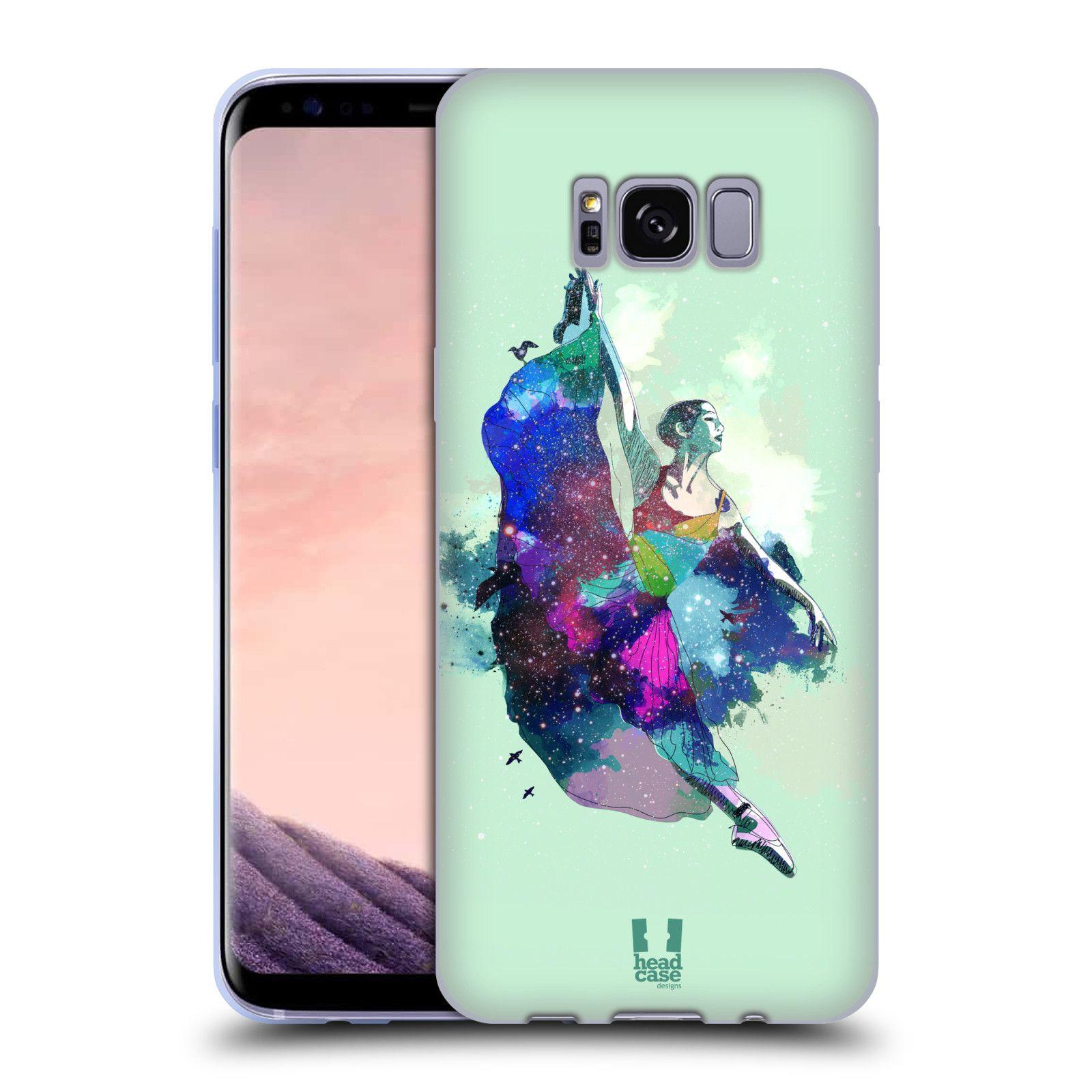 3edd0d189 HEAD CASE silikonový obal na mobil Samsung Galaxy S8 vzor Taneční motiv  BALETKA
