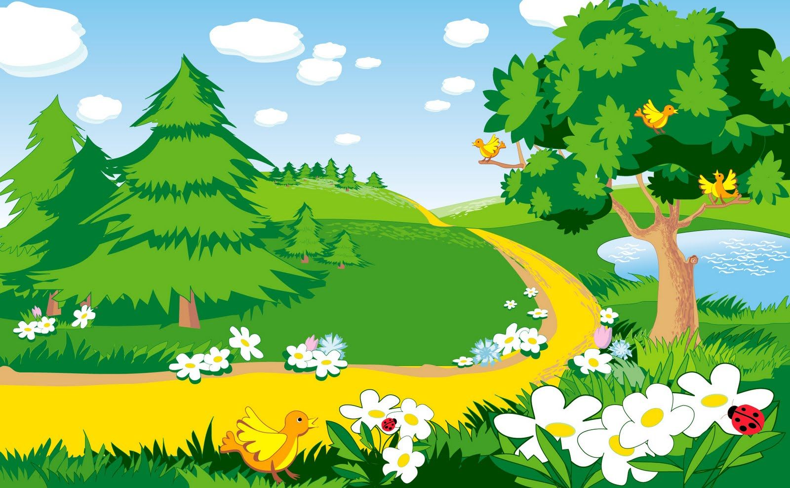 Fondos Para Fotomontajes Infantiles Gratis And Post Fondos Para Landscape Background Landscape Scenery Forest Background