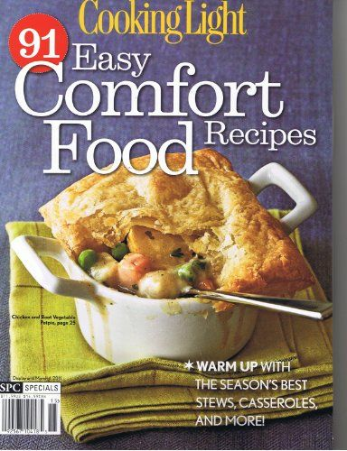 Cooking Light 91 Easy Comfort Food Recipes Warm