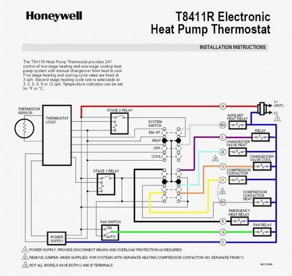 Wiring Diagram Heat Pump Heat Pump System Thermostat Installation Carrier Heat Pump