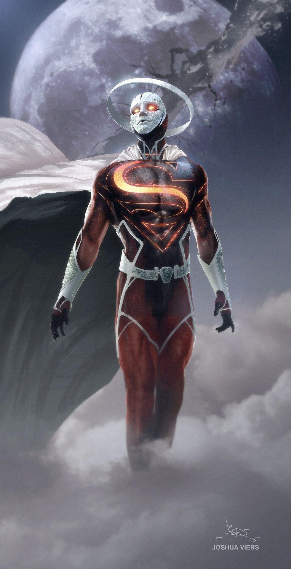 Anti-Superman - by Joshua Viers   #comics #dc #superman