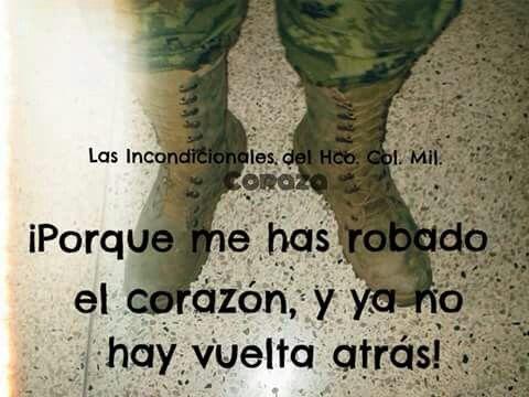 Amor militar! Botas de guacamole!