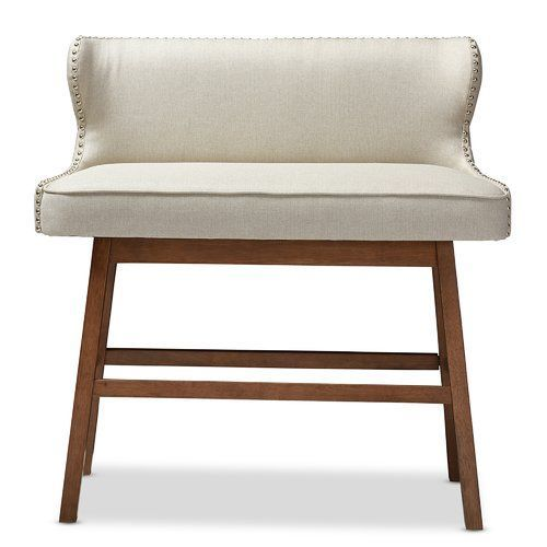 Brilliant Isobel Upholstered Bench Tinas House Bar Bench Bench Gmtry Best Dining Table And Chair Ideas Images Gmtryco