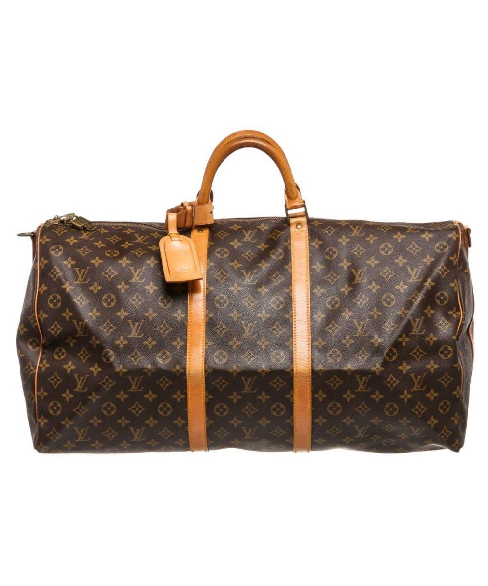 ea6e20d6c2e6 LOUIS VUITTON Pre Owned - Louis Vuitton Monogram Canvas Leather Keepall 60  Cm Bandouliere Duffle Bag Lugagge .  louisvuitton  bags  shoulder bags   hand bags ...