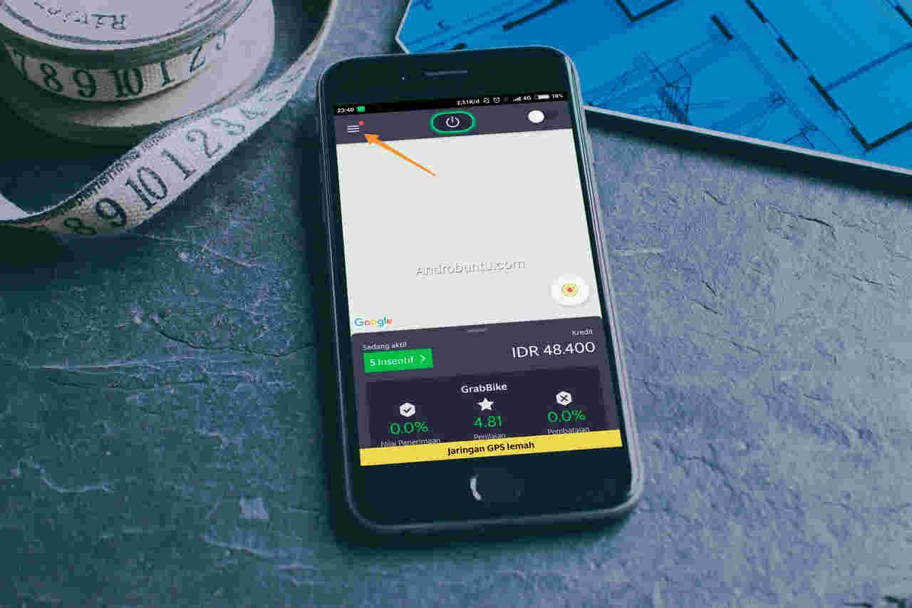 Cara Mengganti Nada Dering Ring Tone Di Aplikasi Grab Driver Androbuntu Dompet Rekening Bank Pengikut