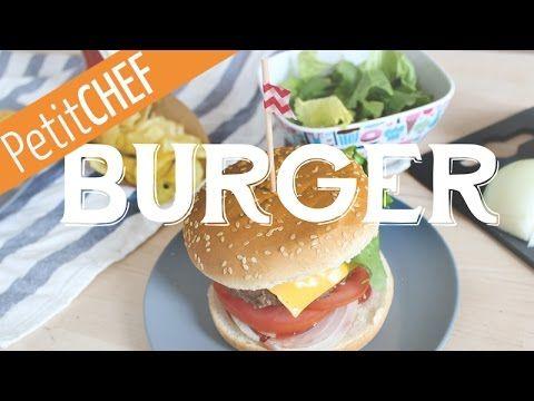 Burger, hamburguesa de ternera, Receta Petitchef