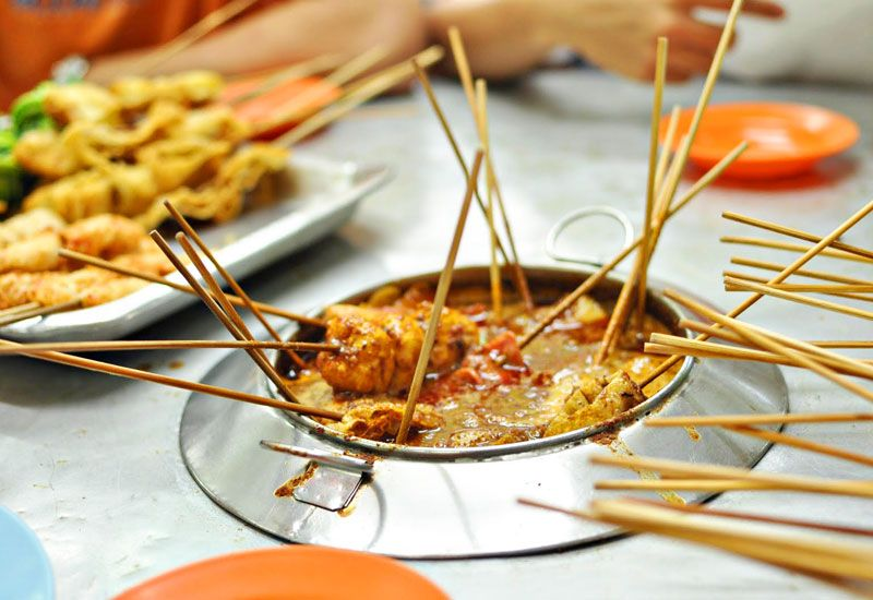 So Popular Satay Celup In Malacca Now We Have Even Halal Satay Celup Chucuk Satay Celup To Cater To Muslims