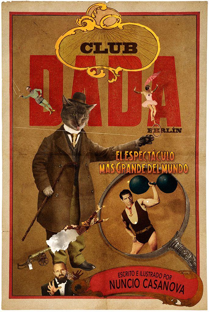 CASANOVA Nuncio - club Dada -  collage numérique 2015