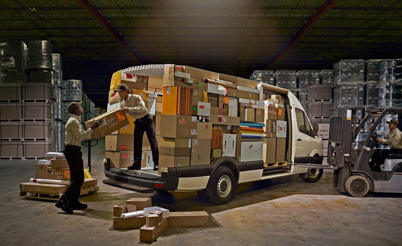 Merecedes Benz Parcel Delivery Car Photographers Automotive