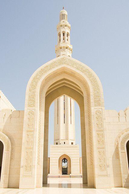 Grand Mosque Minaret by Andrew Luyten, via Flickr