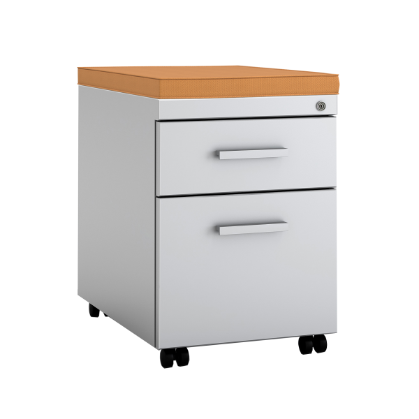 Mobile Pedestal Cushion Top File Cabinets With Tops Are An Easy Way To Add Color Any Room Without Sacrificing Storage E
