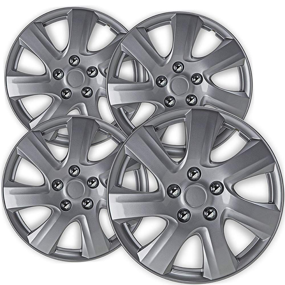 16 Inch Hubcaps Best For 2010 2011 Toyota Camry Set Of 4 Wheel
