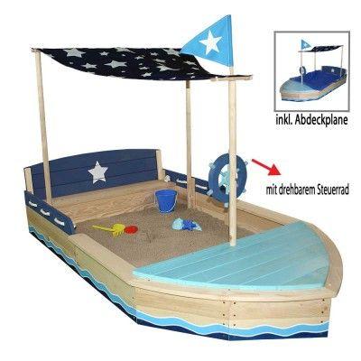 sun sandkasten schiff xl holz m sitzbank dachsegel zubeh r sandkasten sitzbank und schiffe. Black Bedroom Furniture Sets. Home Design Ideas