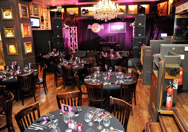 Wedding Styling Hard Rock Cafe