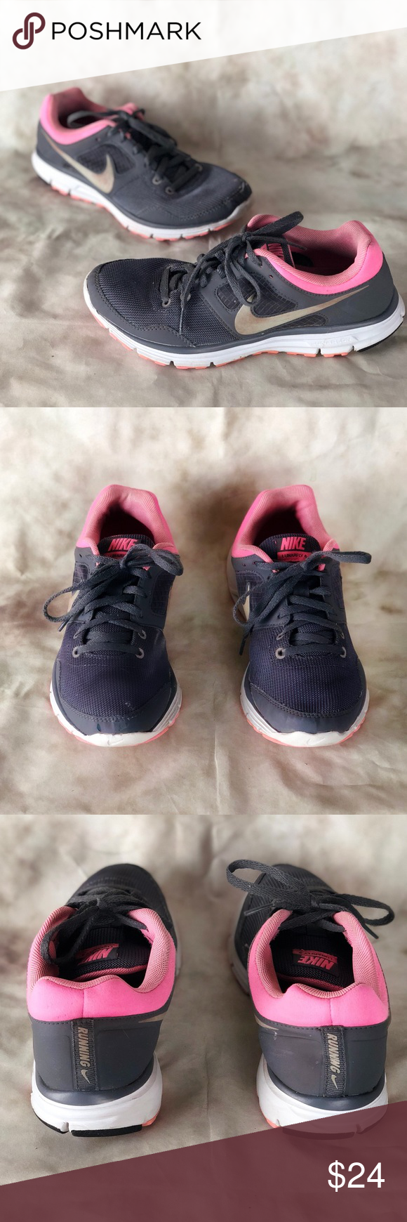 Mujeres Nike Zapatillas Lunarfly Running zapatilla Running Zapatillas Nike Rosa dccec8