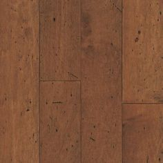"""Foyer, Dining Room, Hall to Guest Suite, Morning Room, Kitchen, Pantry, Keeping Room, Master Suite Foyer, Hallway to Powder Room, Powder Room, Utility Room, Arrival Center, Hallway to Second Floor, Second Floor Hallway - Mohawk Hartley HIckory 5"""" in Coffee Hickory Finish"""
