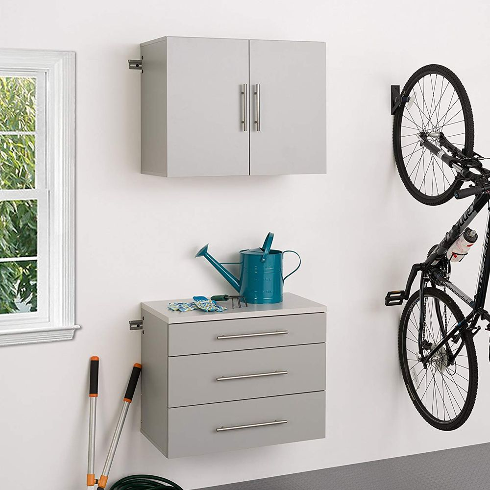 These hang-up cabinets and drawers provide convenient ...