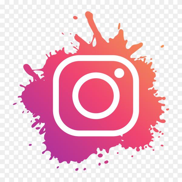 Instagram Logo Modern Paint Splash Social Media Png Similar Png Instagram Logo Transparent New Instagram Logo Instagram Logo