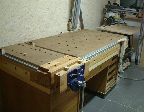 re festool multifunktionstisch werkstatt arbeitstisch werkbank bauen und holz. Black Bedroom Furniture Sets. Home Design Ideas
