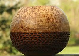 Resultado de imagem para gourd art techniques
