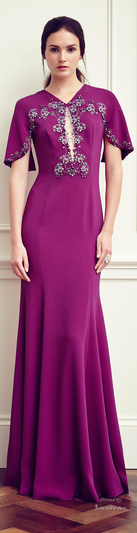 Jenny Packham Resort 2015. I really like this bright, bold Bohemian ...