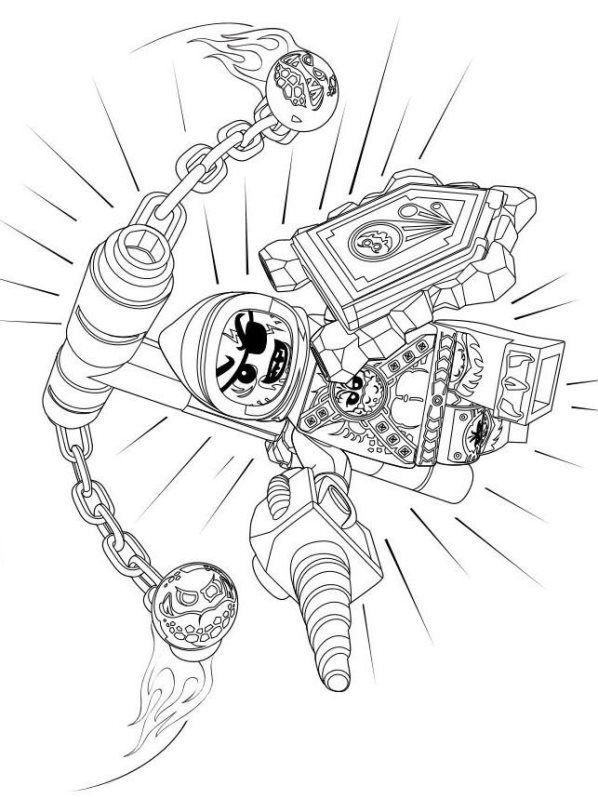 Beast Monster Ausmalbilder Nexo Knights 226 Malvorlage Nexo Knights