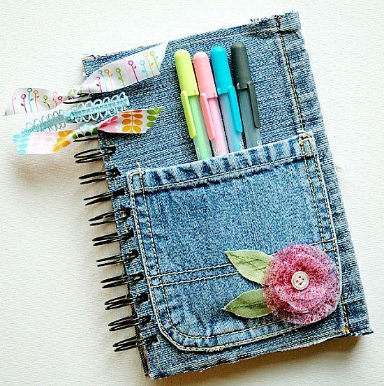 10 Ide Kreatif Mengubah Celana Jeans Bekas Ide Kerajinan