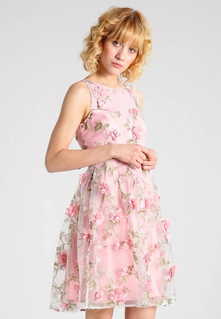 Cocktailkleid / festliches Kleid - rose. #Klieder #sommer ...