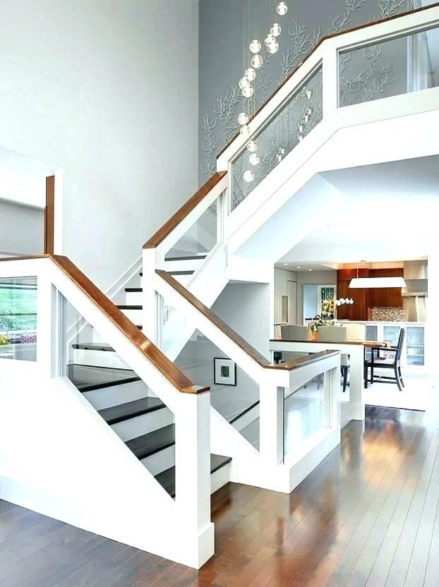 Best Glass Stair Railing Ideas Glass Stair Railing Design 400 x 300