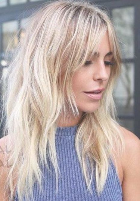 27 Amazing Long Hairstyles For Fine Thin Hair With Bangs And Layers Ms Full Hair Long Thin Hair Thin Hair Haircuts Long Hair Styles