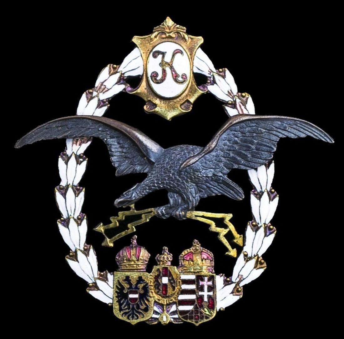 AUSTRIA (Empire) aircrew Badge, by J. Wimbler, Vienna