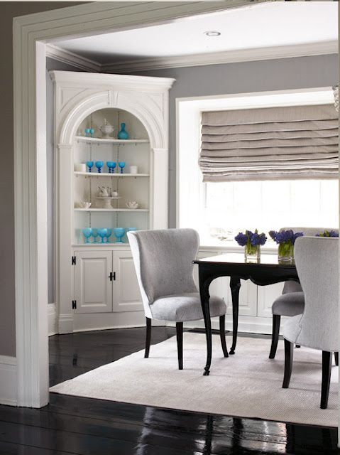Built in corner china cabinet is so prettyDining Room Built in   A Pleasant Place   Pinterest   Room  . Dining Room Sets With Corner China Cabinets. Home Design Ideas