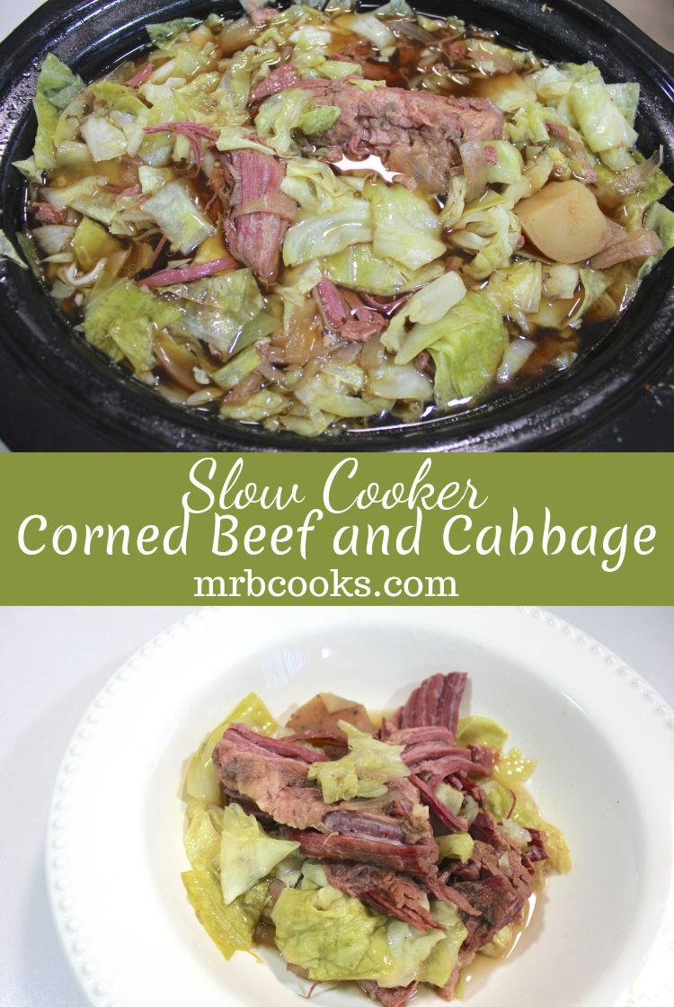 Slow Cooker Corned Beef and Cabbage Recipe Cabbage