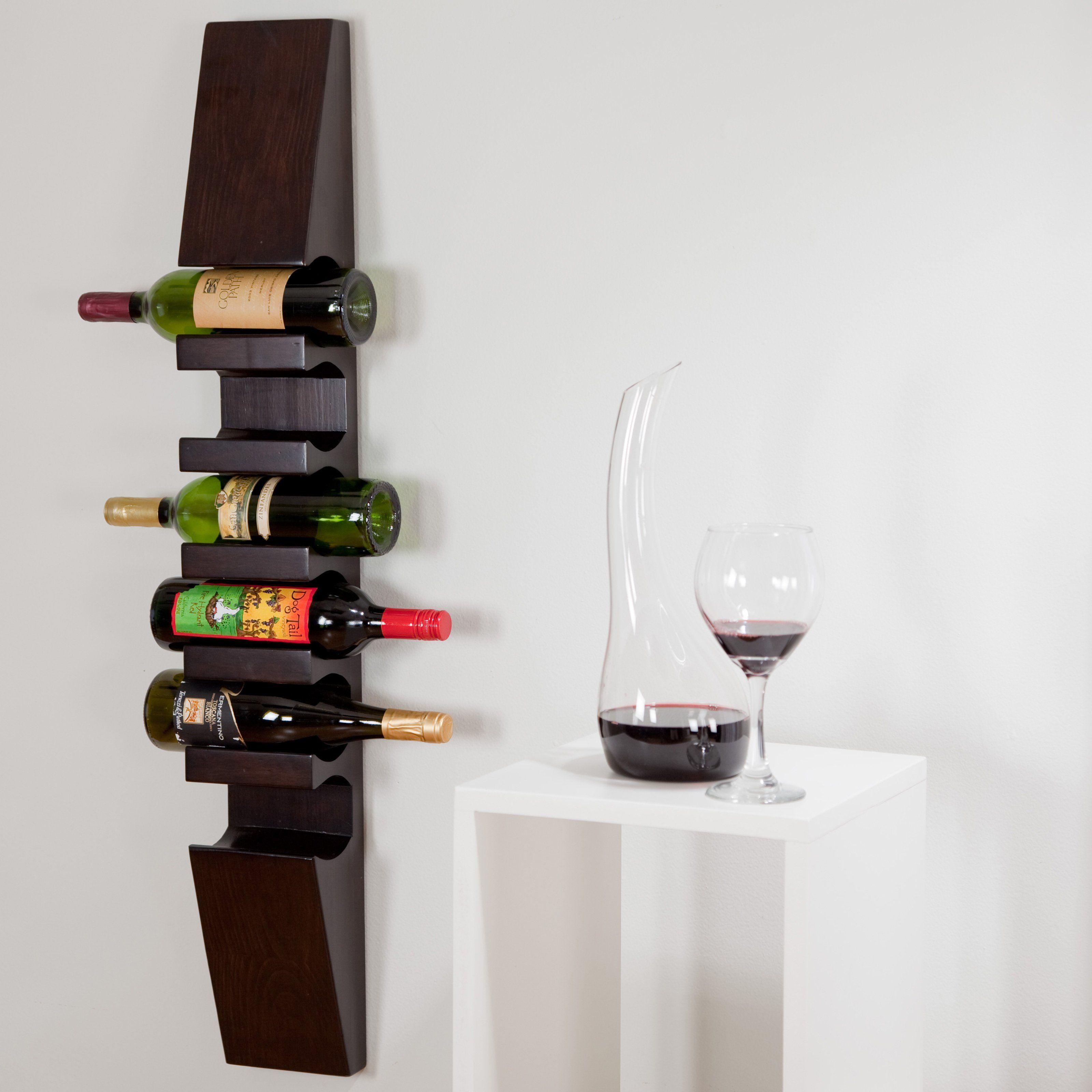 mounted oa wall wood ideas elegant image racks metal kitchen wine ikea full creative wallhanging mount rack vintage in