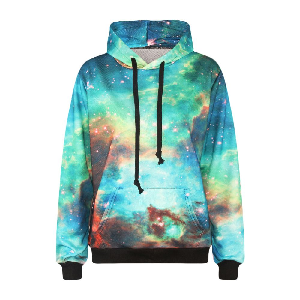 501ce857c91ed Harajuku lovers galaxy hoodie sweater jacket unisex - Thumbnail 2 ...