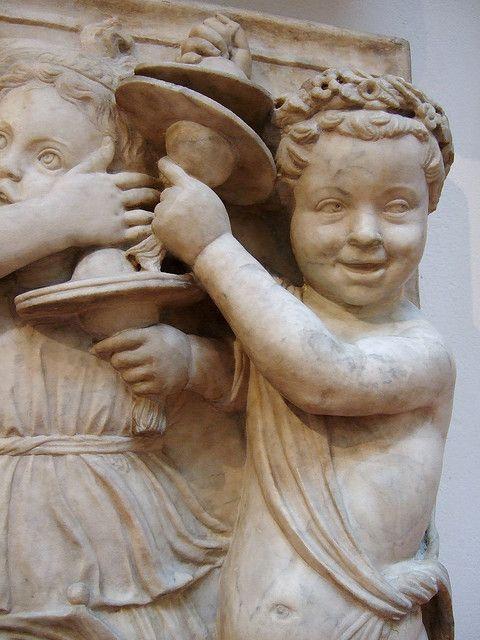 Luca della Robbia - Cantoria del Duomo di Firenze - 1431-1438 - Museo dell'Opera del Duomo, Firenze