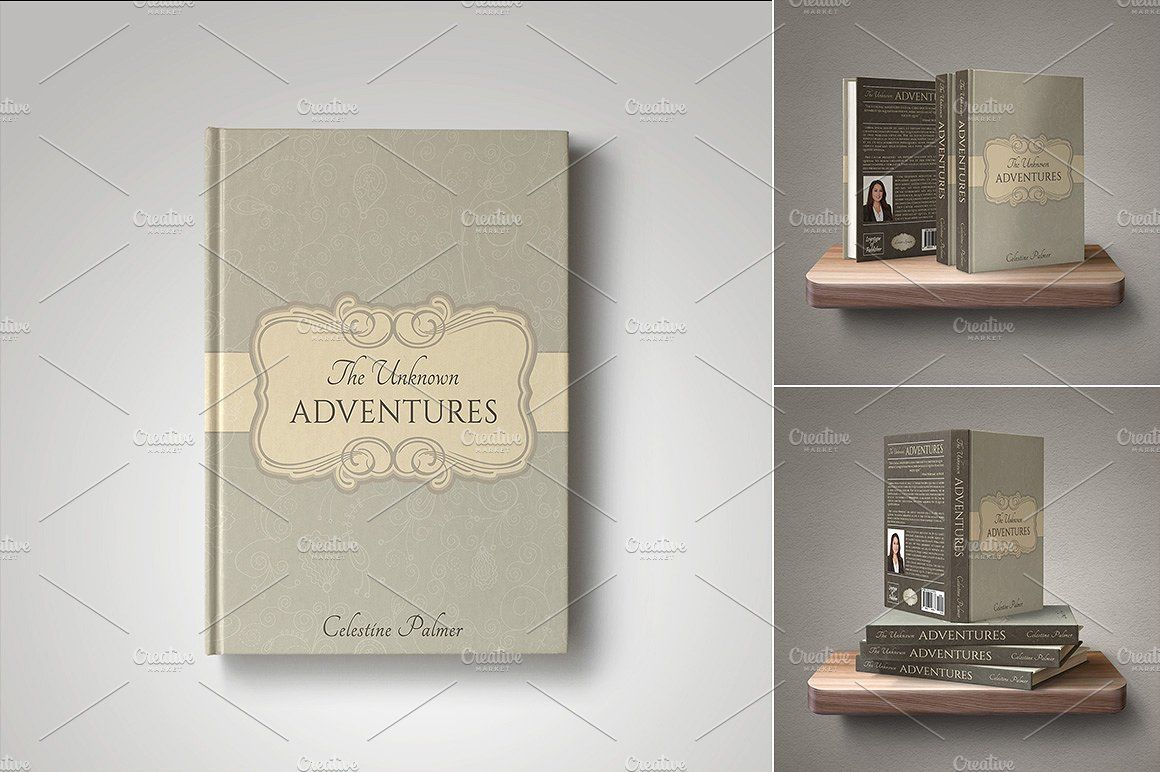 Customizable Book Cover Template 28 By Digital Goods On Creativemarket