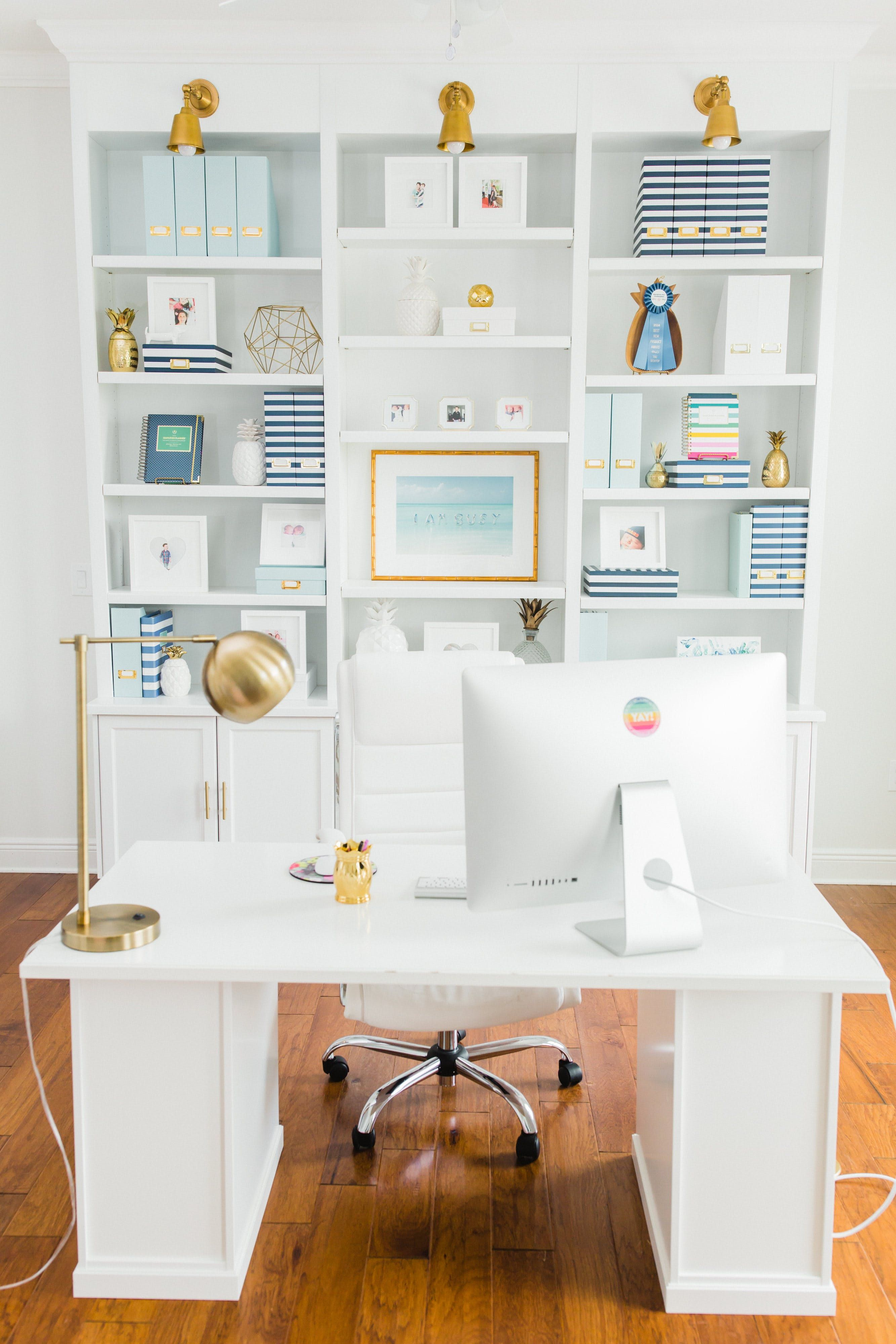 The Perfectly Imperfect Home of Designer (& Mama) Emily Ley | Office ...
