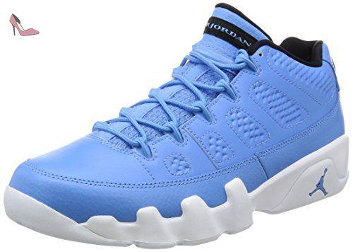 wholesale dealer 6738e cfc48 ... switzerland nike air jordan 9 retro low chaussures spécial basket ball  pour homme bleu 44 c860d ...