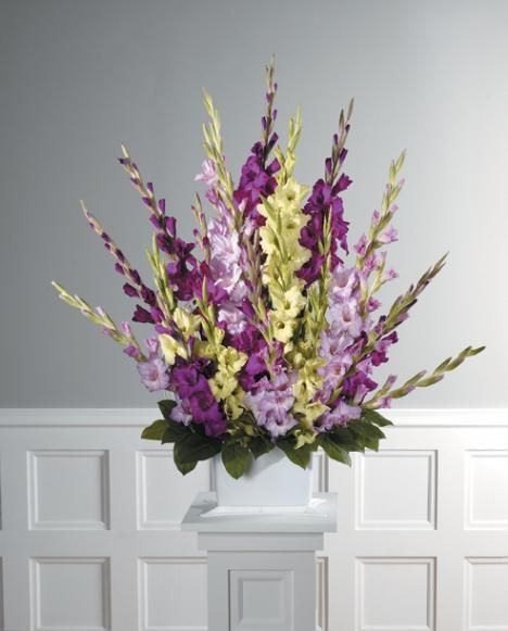 Church Altar Arrangements Wedding Flowers Gladiolas: 1000+ Ideas About Gladiolus