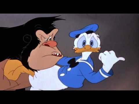 Donald Duck Donald Duck And The Gorilla Youtube Holiday