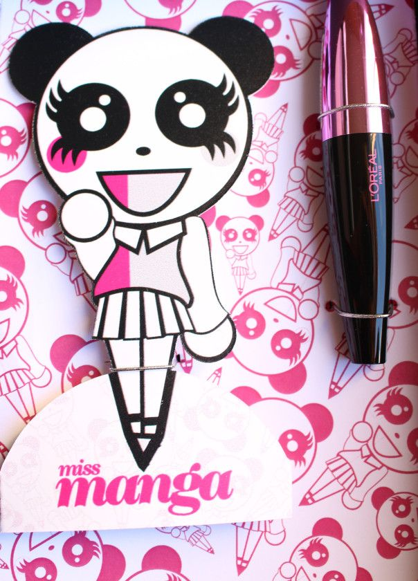 L'Oreal Miss Manga mascara review on blog onestilettoatatime.com