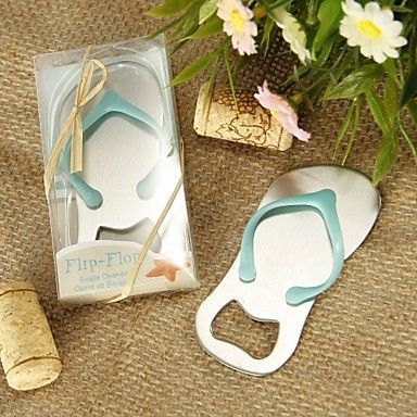 95de08eb142cf Buy Mini Flip Flop Bottle Opener Beach Theme Novelty Beer Bottle Opener  Wedding Favors