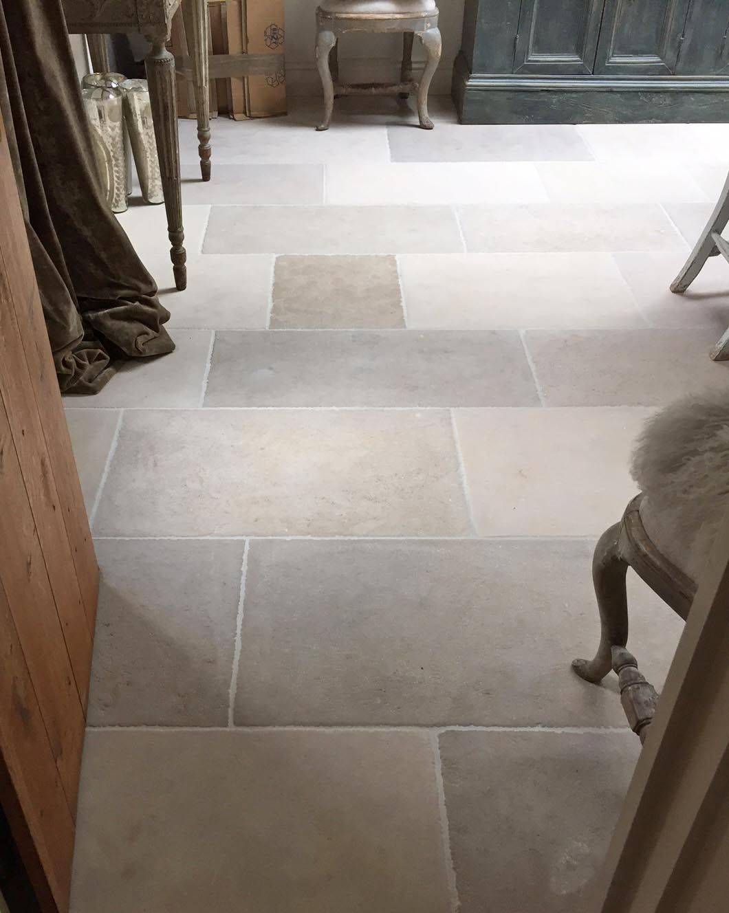 Paris casa rustic grey limestone floor tiles feature in this paris casa rustic grey limestone floor tiles feature in this traditional style kitchen and dining dailygadgetfo Image collections
