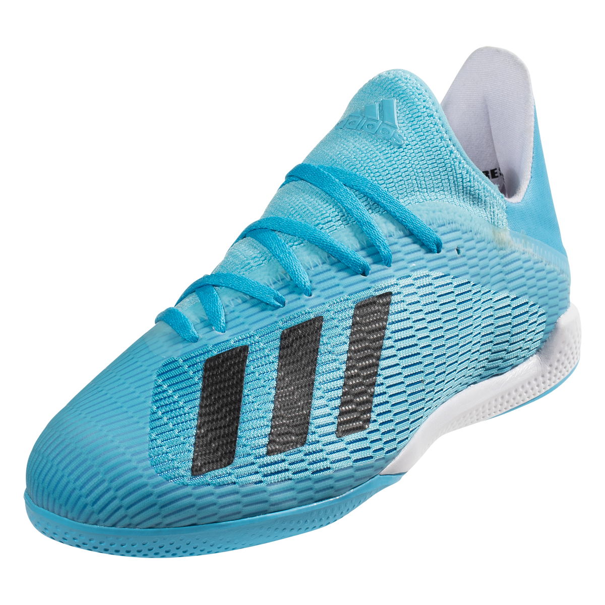 Adidas X 19 3 In Indoor Soccer Shoes Cyan Black Pink 10 5 In 2020 Soccer Shoes Indoor Soccer Adidas