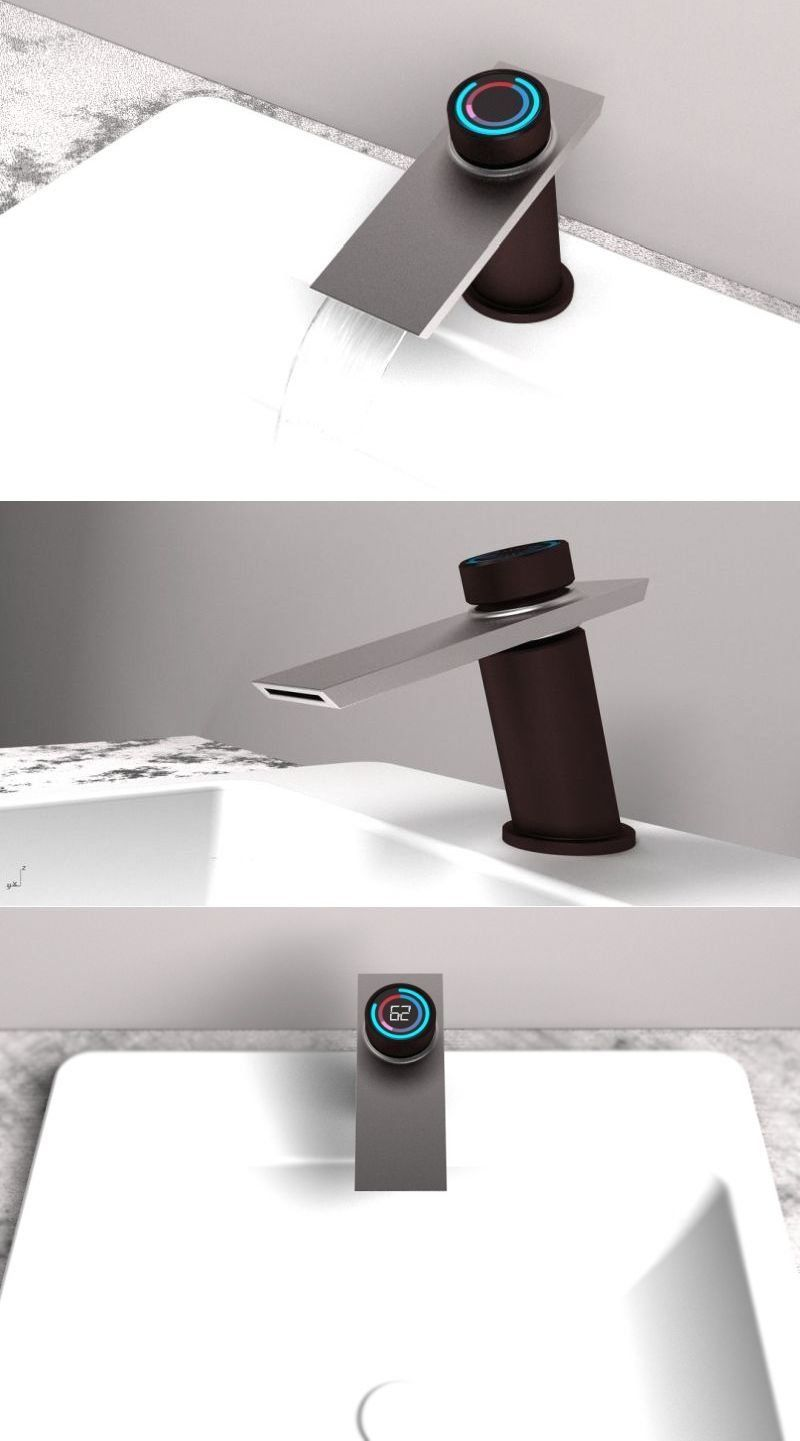 Bojian Han S Smart Faucet Delivers Water Instantly At Preferred Temperature 1000 Smart Faucet Shower Faucet Bathroom Faucets Chrome [ 1441 x 800 Pixel ]